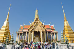 New year worship in Thailand Royalty Free Stock Image