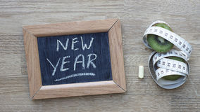 New year written Stock Photo