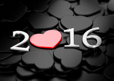 New Year 2016. Royalty Free Stock Images