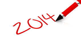 2014 new year Stock Images