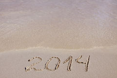 New Year 2014. Royalty Free Stock Image