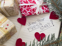 New Year's Resolutions Royalty Free Stock Image
