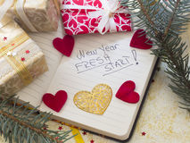 New Year's Resolutions Stock Images