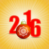 New Year Yellow Background. Christmas Yellow Background Stock Photo
