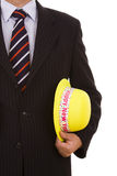 New year yellow hat Stock Photography