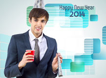 New Year 2014 Stock Images