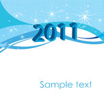 New years 2011. Backgrounds for print royalty free illustration