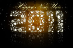 New Years 2011 royalty free illustration