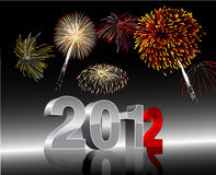 New Years 2012 Stock Image