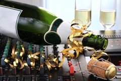 New Years. Image of New Years celebrations and party time Royalty Free Stock Image