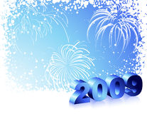 New_Years_background Stock Photos