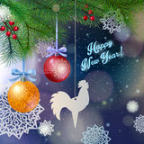 New years background Stock Images