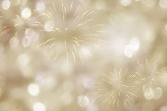 New years background. With fireworks royalty free stock photo