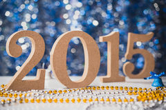 New years background Royalty Free Stock Photography