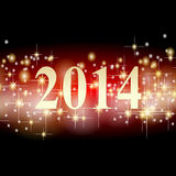 New years background 2014 Royalty Free Stock Images