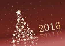 New Years card. Stock Photos