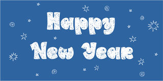 New years card Royalty Free Stock Images