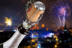 New Years celebration Stock Photos