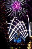 New Years Celebration at Disneyworld Stock Image