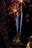 New Years Celebration at Disneyworld Stock Photos