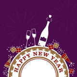 New Years Celebration Royalty Free Stock Images