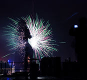 New Years celebrations Stock Image