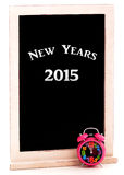 New Years 2015 Chalkboard Stock Image