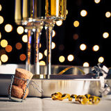 New Years Champagne Royalty Free Stock Photos
