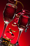 New Years Champagne Stock Images