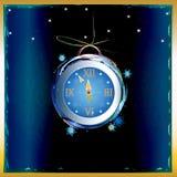 New Years clock Royalty Free Stock Photos