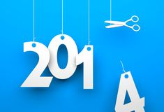 New years coming Stock Photography