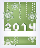 New years composition Royalty Free Stock Image