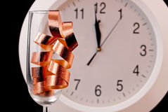 New Years Count Down Celebration Royalty Free Stock Photo