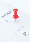 New years day Stock Photography