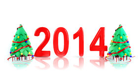 New Years Day 2014 Stock Photos