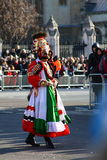 New Years day parade in London. Royalty Free Stock Images