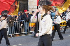 New Years Day Parade in London. Royalty Free Stock Image