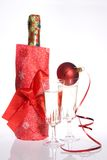 New Years day toast Royalty Free Stock Image