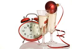 New Years day toast Stock Photo