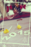 New Years Decorations Royalty Free Stock Photos