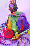 New Years Eve 2011 party still life Royalty Free Stock Photography