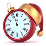 New Years Eve alarm clock midnight Royalty Free Stock Photography