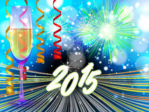 New Years eve background. For your text stock illustration