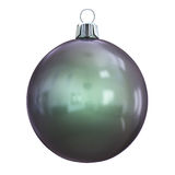 New Years Eve bauble blank. Christmas ball black. Stock Images