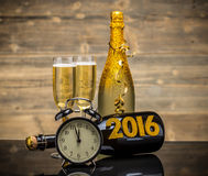 2016 New Years. Eve celebration background royalty free stock images