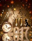 New Years Eve celebration Royalty Free Stock Photos