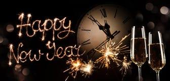 New Years Eve celebration background royalty free stock images