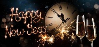 New Years Eve celebration background royalty free stock photo