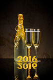 2016 New Years. Eve celebration concept Royalty Free Stock Photo