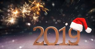 New Years Eve celebration royalty free stock image